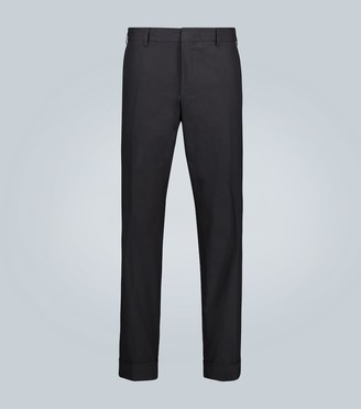 Dries Van Noten Cotton tapered pants