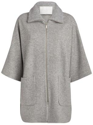 Fabiana Filippi Knitted Zip-Front Coat
