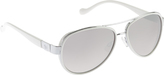 Jessica Simpson Women's J5361 Aviator Sunglasses