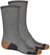Timberland Merino Wool Blend Hiking Socks - 2-Pack, Crew (For Men)