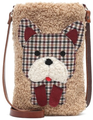 Il Gufo Applique teddy bag