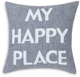 "Alexandra Ferguson ""My Happy Place"" Decorative Pillow, 16"" x 16"""