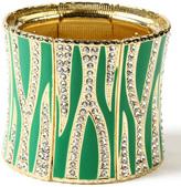 Amrita Singh Evergreen & Gold Rendezvous Stretch Bracelet