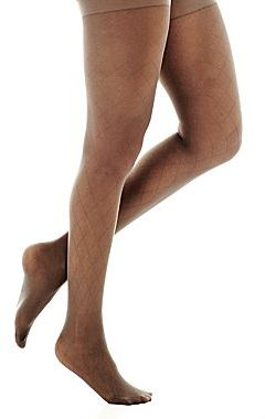 JCPenney Diamond Patterned Tights