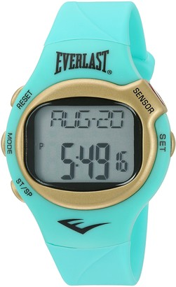 Everlast 'Heart Rate Monitor' Automatic Plastic and Rubber Fitness Watch Color:Green (Model: EVWHR005G-TQ)