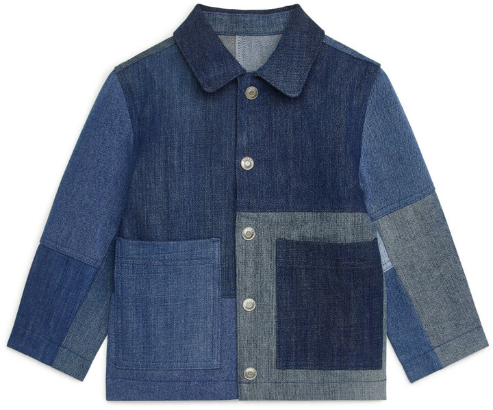 Thumbnail for your product : Arket Patchwork Denim Overshirt
