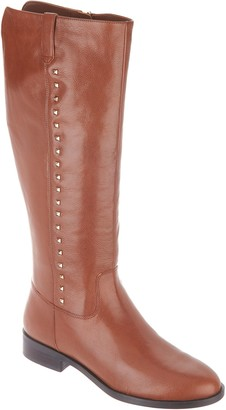 Marc Fisher Wide Calf Leather Tall Shaft Boots - Secrit