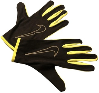 Nike Black Synthetic Gloves