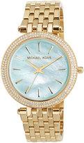 MICHAEL Michael Kors 39mm Darci Golden Bracelet Watch