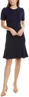 Maggy London Jacquard Mini Dress