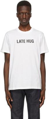 Helmut Lang SSENSE Exclusive White Late Hug T-Shirt