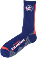 For Bare Feet Columbus Blue Jackets Team Vortex Crew Socks