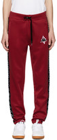 Marcelo Burlon County of Milan Red Kappa Edition Lounge Pants