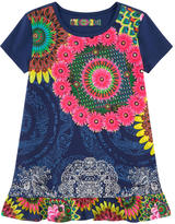 Desigual Printed T-shirt with sequins