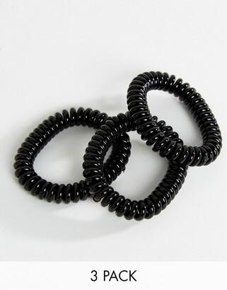 invisibobble Slim Hair Tie - True Black