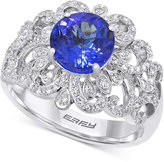 Effy Tanzanite (1-9/10 ct. t.w.) and Diamond (1/2 ct. t.w.) Ring in 14k White Gold