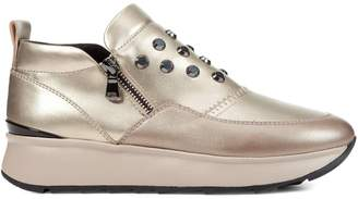 Geox Studded Platform Sneakers
