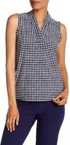 Anne Klein Dot Sleeveless Blouse