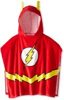 Intimo Dc Comics Flash Bath Towel Pool/Beach Hooded Poncho Robe for boys