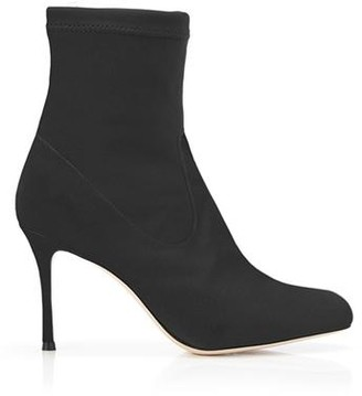 Marion Parke Drew | Stretch Suede Stiletto Pull-On Bootie