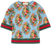 Gucci Printed neoprene sweatshirt
