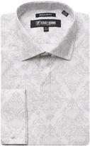 Stacy Adams Long Sleeve Woven Floral Shirt