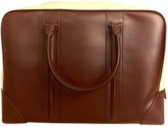 Givenchy Burgundy Leather Bags