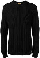 Nuur ribbed trim jumper - men - Cotton/Nylon - 50