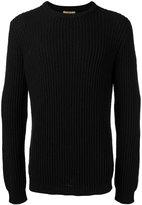Nuur ribbed trim jumper - men - Cotton/Nylon - 50