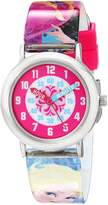 Disney Kids' FNFKQ039 Frozen Time Teacher Watch