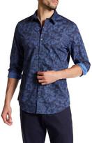 Calvin Klein Printed Spread Collar Shirt