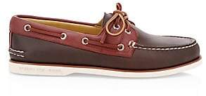 Sperry Men's Gold Cup Two-Tone Leather Boat Shoes