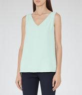 Reiss Jasmine Button-Back Vest
