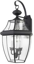 Bed Bath & Beyond Mystic Black Outdoor Lantern Style Light Fixture