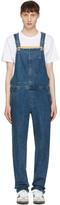 A.P.C. Indigo Denim Florian Overall Jeans