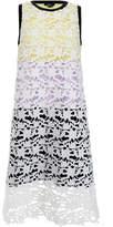 Raoul Blaze Coconut Milk Lace Midi Dress