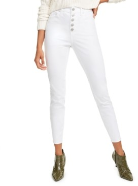 Rewash Juniors' White Wash Skinny Jeans