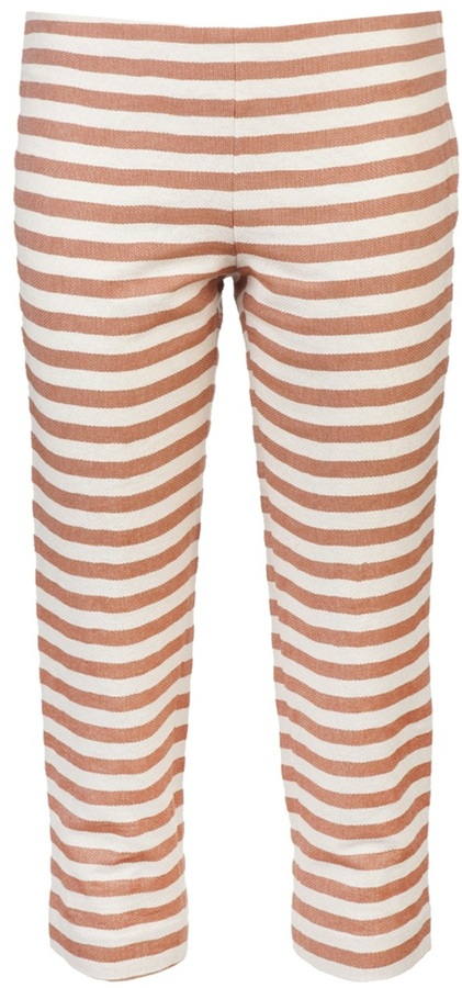 Hache Cropped striped pant