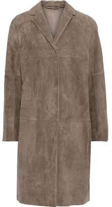 Max Mara Suede Coat