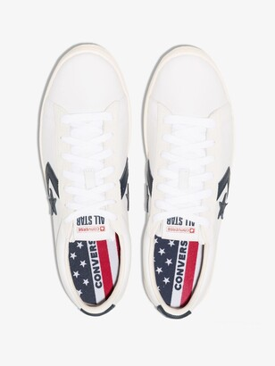 Converse White OG Ox Lace-Up Sneakers