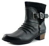 Earth Origins Dolly Women Round Toe Leather Black Boot.