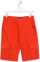 Roberto Cavalli cargo shorts - kids - Cotton/Spandex/Elastane - 14 yrs