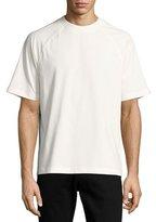 Moncler Arrow-Print Raglan T-Shirt, Beige