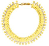Vionnet Crystal & Resin Collar Necklace