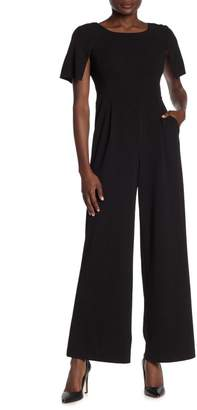 Calvin Klein Split Short Sleeve Jumpsuit