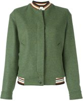 Marco De Vincenzo embroidered detail bomber jacket