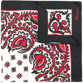 RED Valentino patterned square scarf