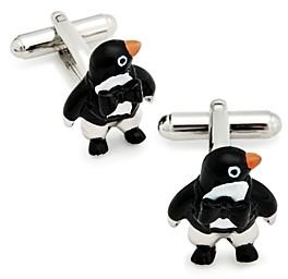 Link Up Bow Tie Penguin Cufflinks
