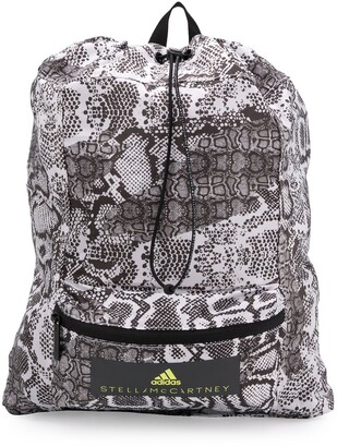 adidas by Stella McCartney snake drawstring backpack