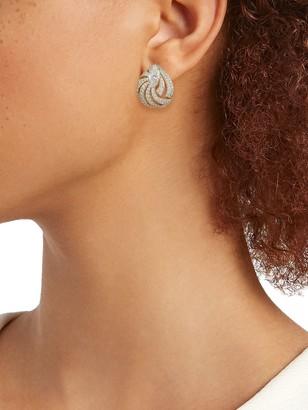 Adriana Orsini Goldtone & Crystal Stud Earrings